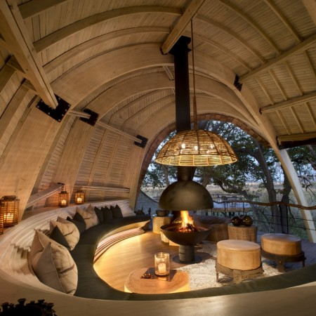 Sustainable Safari Lodge in Botswana, Africa